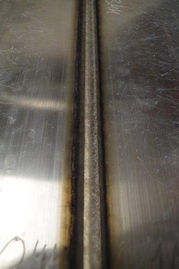 Aluminiumwelding_weldingseam