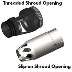 Fume Shroud Openings