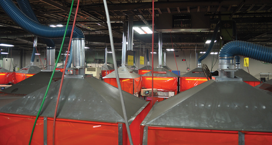 Robotic Cell Fume Hoods