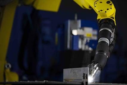 Robotic Fume Extraction Welding