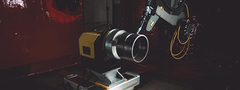 Spool_Welding_Robot_Positioner
